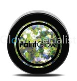 - PaintGlow PAINTGLOW UV CHUNKY HOLOGRAPHIC GLITTER - LUCKY LEPRICORN
