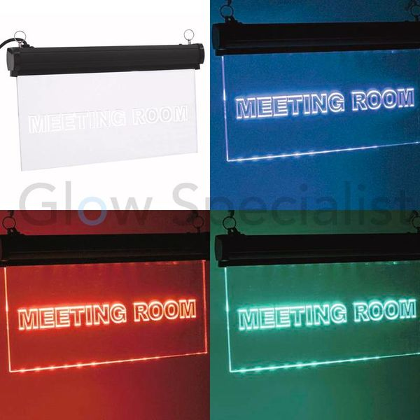 LED SIGN EUROLITE RGB - MEETING ROOM