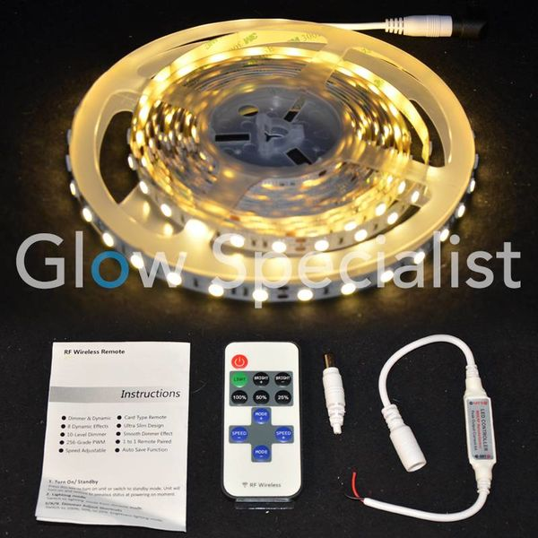 LED STRIP WARM WIT - 5 METER - 24V