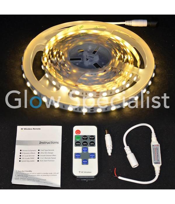 - Glow Specialist LED STRIP WARM WIT - 5 METER - 24V