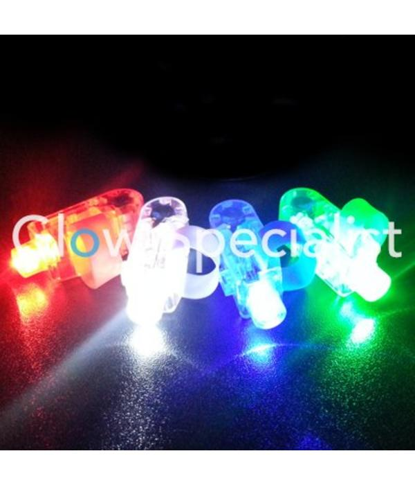 - Glow Specialist VINGERLICHTJES - TRAY VAN 100 STUKS - MET 4 KLEUREN