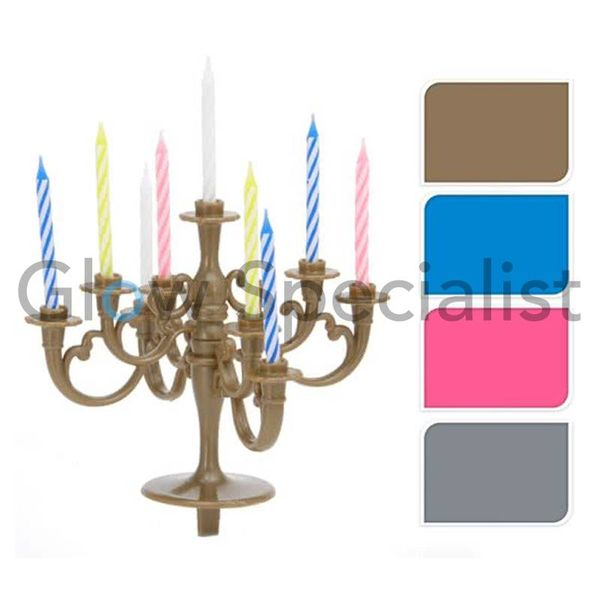 CAKE DECORATION CHANDELIER - WITH 10 CANDLES