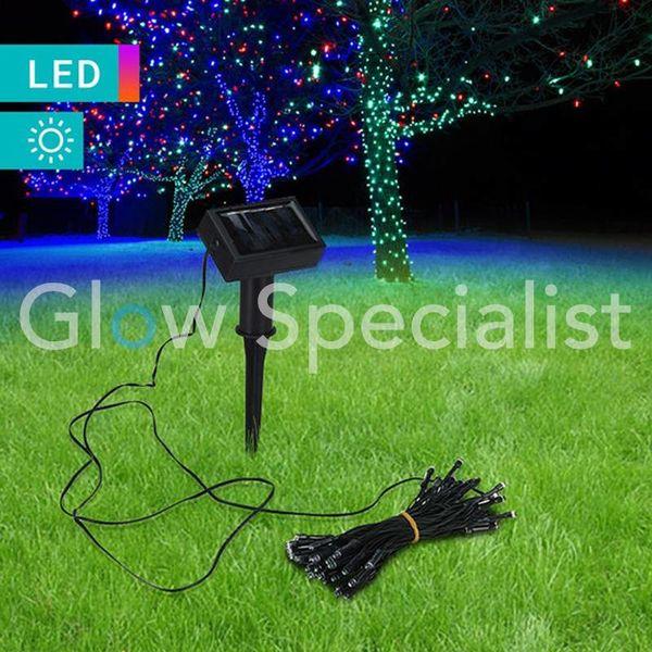 SOLAR LED LIGHTING - 50 LED - MULTICOLOR