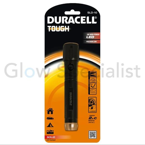 DURACELL LED FLASHLIGHT TOUGH 3W  - SLD-10