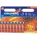 Grundig GRUNDIG LR6 BATTERIJEN - AA - 12 STUKS (PENLITE)