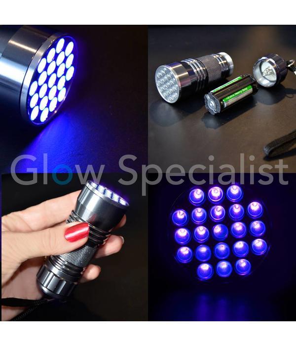 UV HAND-WASH LOTION - SET MET 21 LED ZAKLAMP