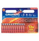 Grundig GRUNDIG LR03 BATTERIJEN - AAA - 12 STUKS (PENLITE)