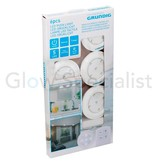 Grundig WIRELESS LED DIMMABLE PUSH LIGHTS WITH REMOTE CONTROL AND TIMER - 6 PCS