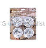 Dunlop WIRELESS LED PRESSURE LIGHTS - BRIGHT WHITE - 4 PIECES