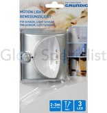 Grundig LED NIGHT LIGHT WITH PIR LIGHT SENSOR - 3 LED