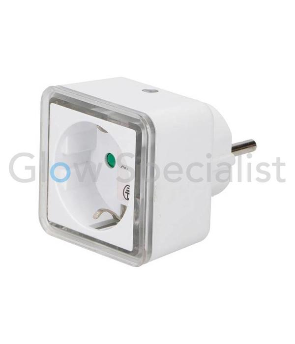 Grundig LED NACHTLAMP MET SENSOR - 4 LED - MET 230V STEKKERDOOS