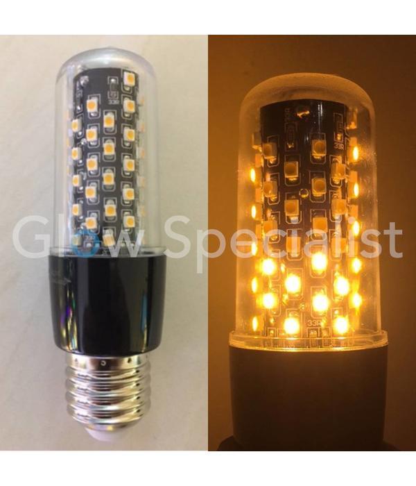 Firelamp FIRELAMP™ 3W - 300 LUMEN - E27M - 64 SMD - 1800K - BLACK CLEAR