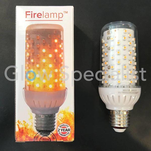 FIRELAMP™ 4W - 465 LUMEN - E27L - 96 SMD - 1838K - CLEAR