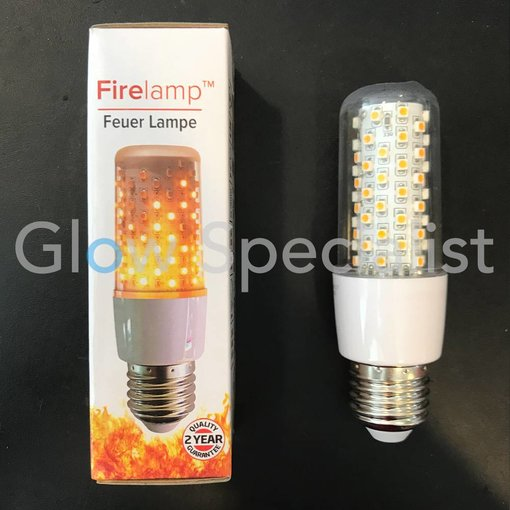 Firelamp FIRELAMP™ 3W - 300 LUMEN - E27M - 64 SMD - 1800K - HELDER