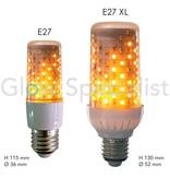 Firelamp FIRELAMP™ 4W - 465 LUMEN - E27L - 96 SMD - 1838K - HELDER