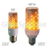 Firelamp FIRELAMP™ 4W - 465 LUMEN - E27L - 96 SMD - 1838K - CLEAR