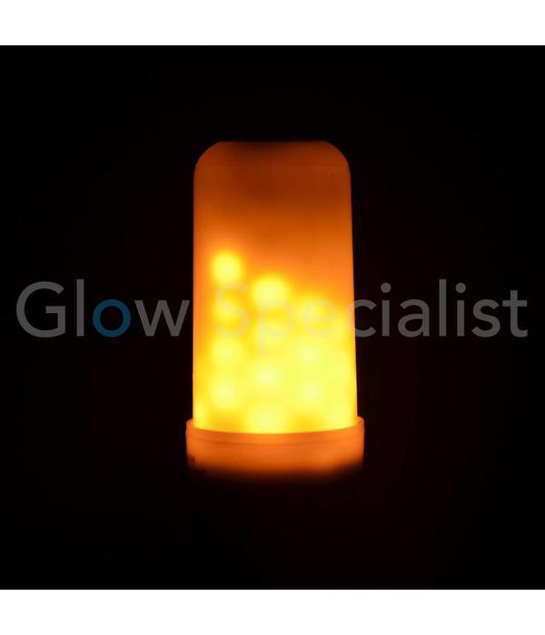 Firelamp FIRELAMP™ 3W - 300 LUMEN - E27M - 64 SMD - 1800K - OPAAL