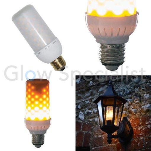 Firelamp FIRELAMP™ 4W - 465 LUMEN - E27L - 96 SMD - 1838K - OPAAL