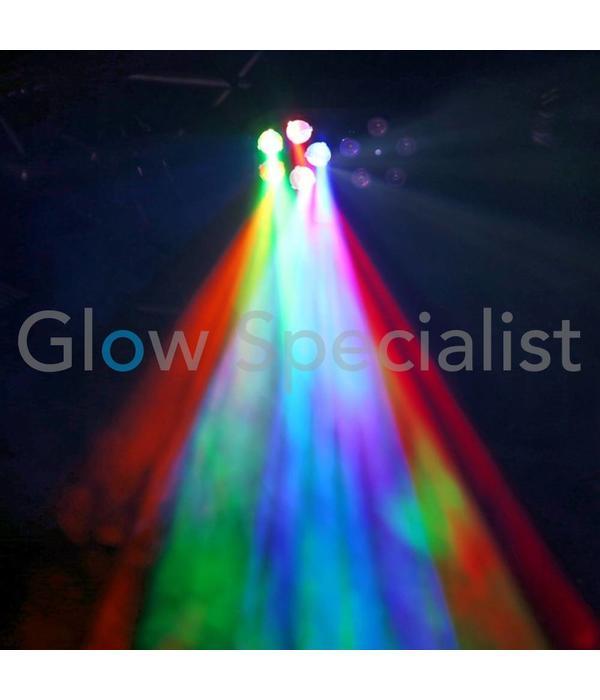 BeamZ BEAMZ SWAY GOBO LICHTEFFECT MET 5 GOBO'S & LED'S EN LASER
