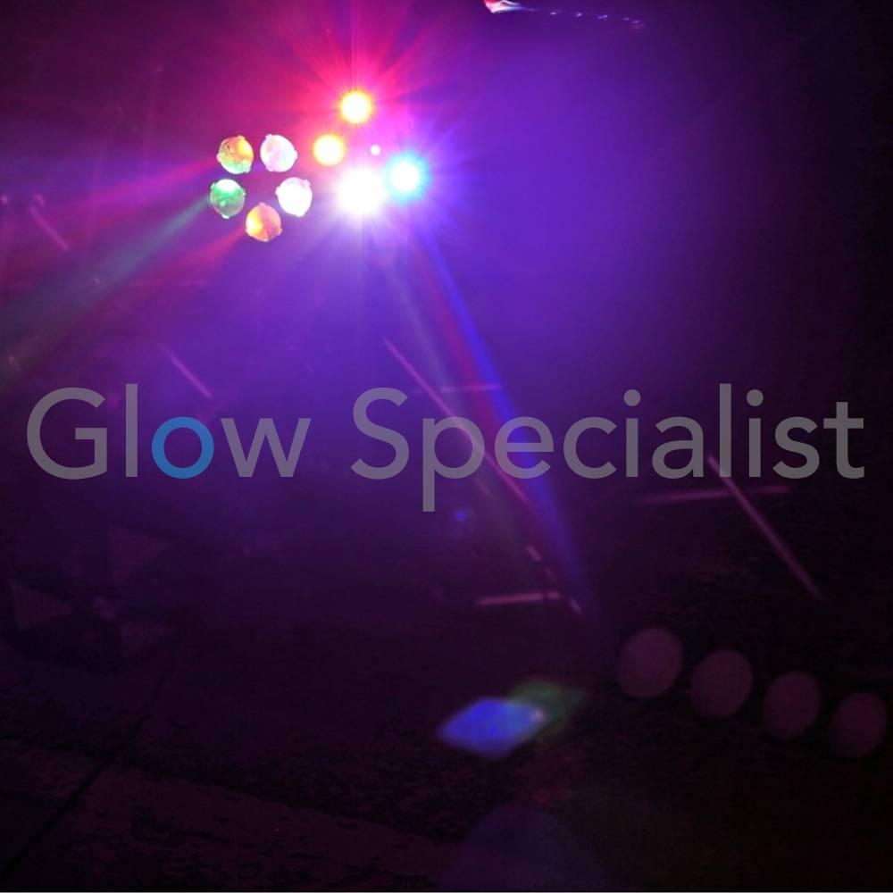 Beamz Sway Gobo Laser R G Strobo Irc