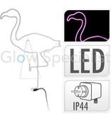 LED DECORATIVE LIGHTING - 180 LED - PINK - FLAMINGO