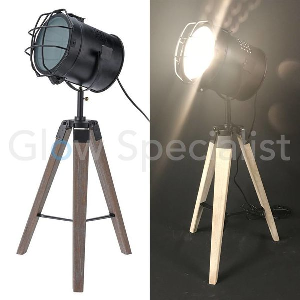 INDUSTRIAL TABLE LAMP - 64 CM