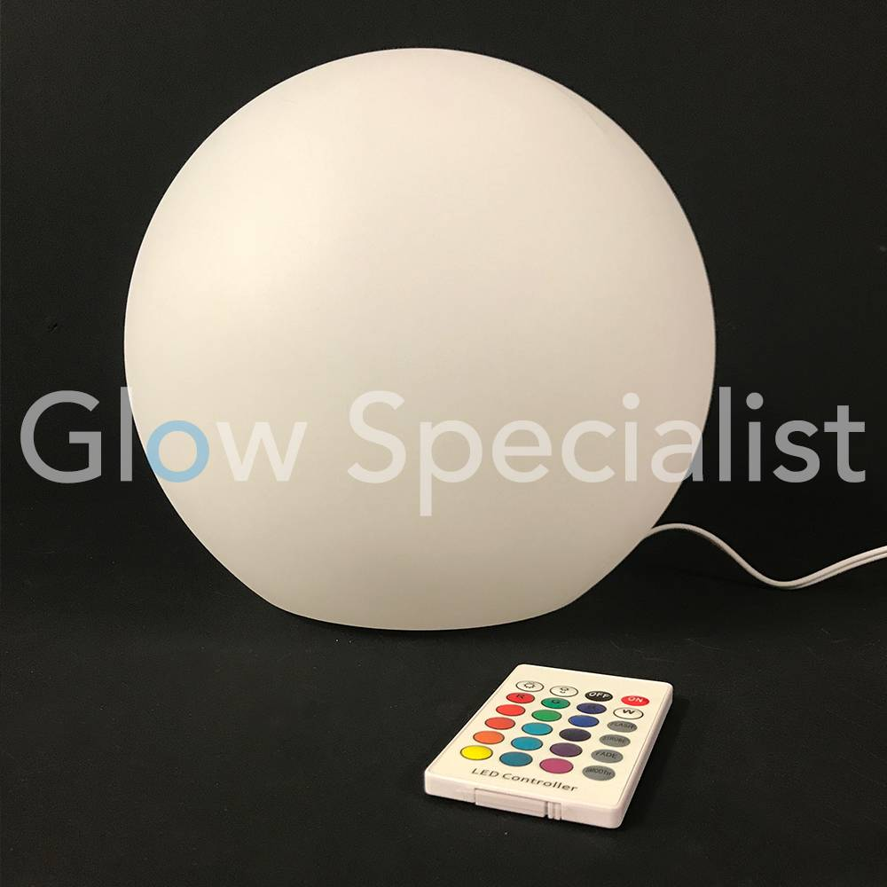 Outdoor Led Ball 25cm Color Changing With Remote Control 25 Cm