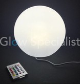 OUTDOOR LED  BOLLAMP - 25CM - COLOR CHANGING MET AFSTANDSBEDIENING