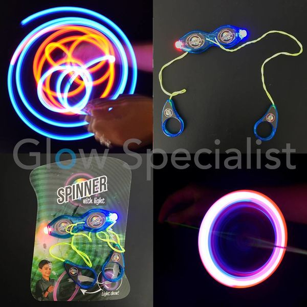 LED SPINNER MET KOORD