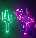 LED DECORATIVE LIGHTING - 180 LED - GREEN - CACTUS