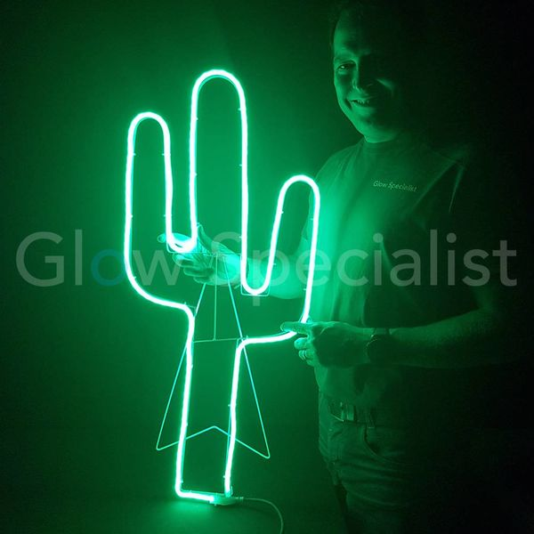 LED SLANGVERLICHTING - 81 CM - GROEN - CACTUS