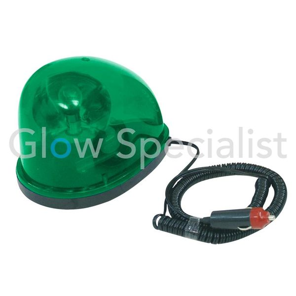 EUROLITE LED POLICE BEACON 12V/21W - GREEN