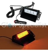 - Eurolite EUROLITE LED POLICE LIGHT PRO 12V - AMBER HIGH POWER
