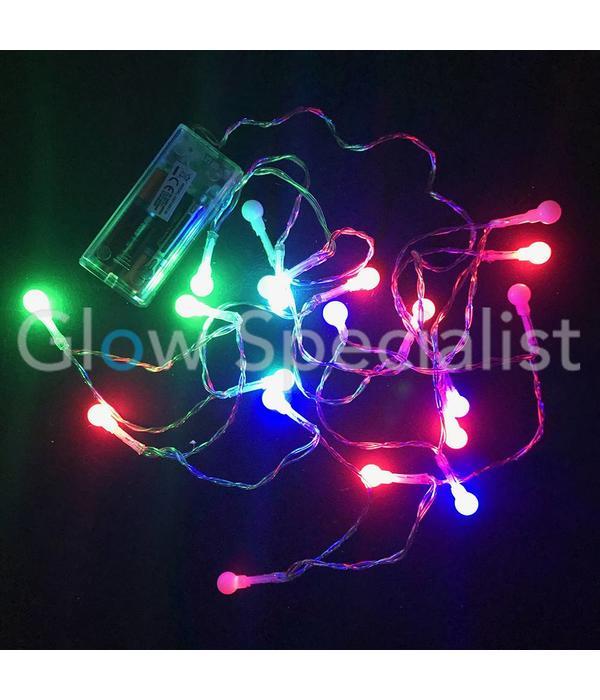 LED BALL LIGHTING WITH 20 LIGHTS - COLOR CHANGING