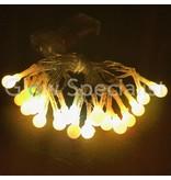 LED LICHTSNOER MET 20 BOLLETJES - COLOR CHANGING