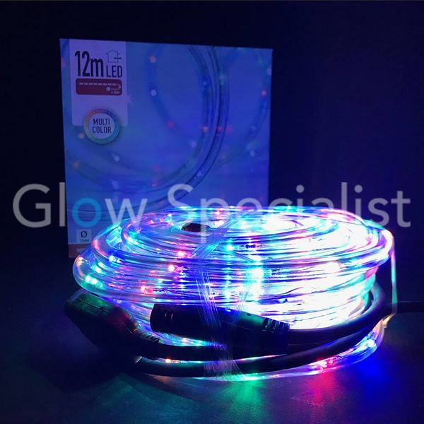 LED ROPE LIGHT - 288 LED - 12 METER - MULTICOLOR