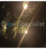 LED GARLAND WITH TIMER - 270CM - 30 LED - WARM WHITE