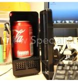 USB MINI FRIDGE WITH RED LED LIGHT