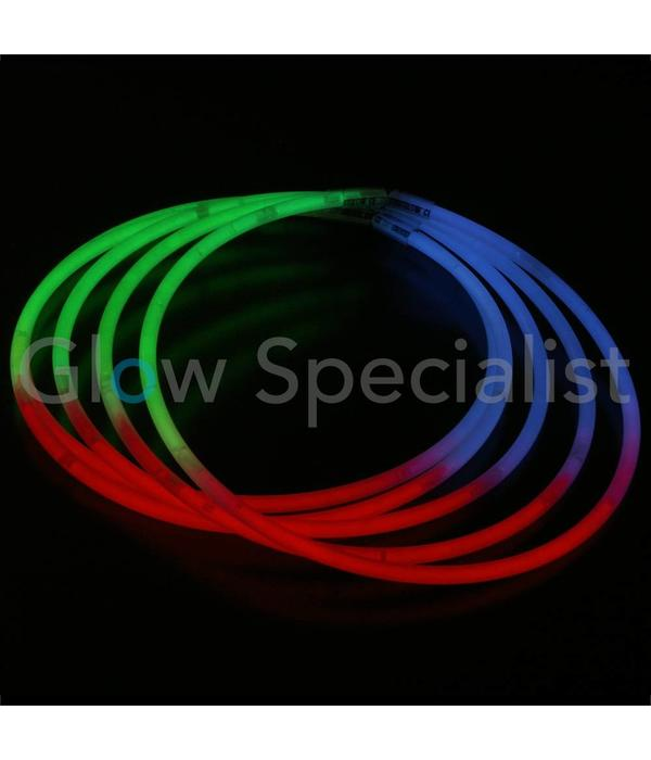 - Glow Specialist GLOW NECKLACE ​​- TRICOLOR - TUBE WITH 50 PIECES