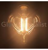 LED FILAMENT LAMP EDISON - 4W - 300 LUMEN - E27 - HEART