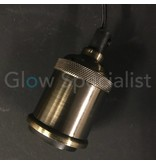 HANGING LAMP BRONZE 8 CM WITH E27 FITTING