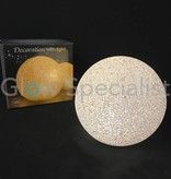 LED DECO BALL - 15 CM - WARM WHITE