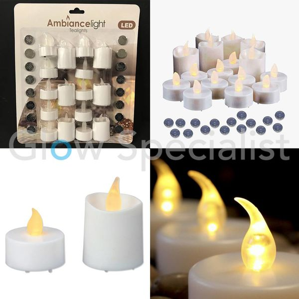 LED TEA LIGHTS - SET OF 16