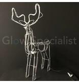 3D RENDIER SLANGVERLICHTING MET DRAAIENDE KOP - 360 LED - 60 CM