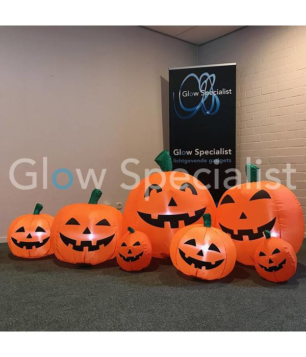 Europalms INFLATABLE HALLOWEEN FAMILY PUMPKIN - 235 x 95 CM