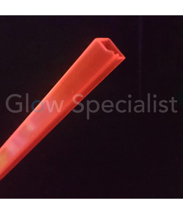 - Eurolite UV / BLACKLIGHT TUBE - 10x10MM - RED - PER METER