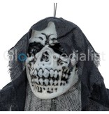 Europalms HALLOWEEN GLOW IN THE DARK SKELETON OLD WOMAN  -  210 CM