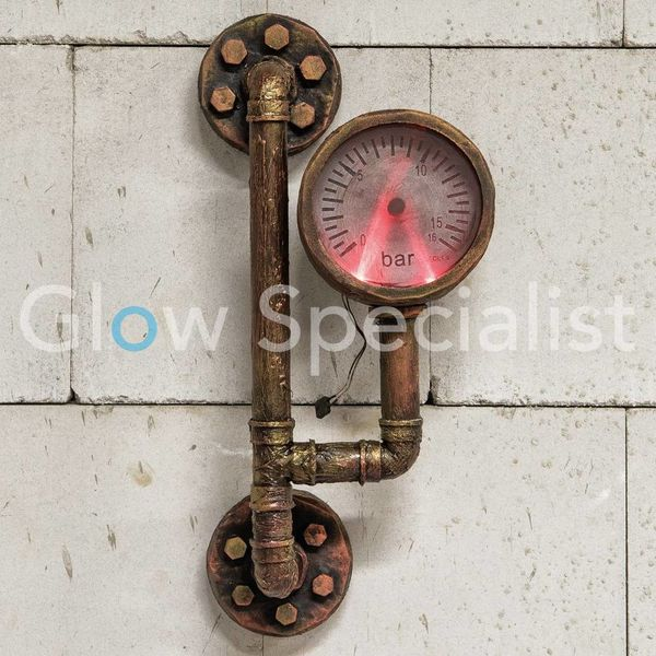 HALLOWEEN HAUNTED WATERMETER WITH LIGHT AND SOUND