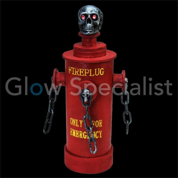 HALLOWEEN  HYDRANT WITH LIGHT, SOUND AND MOTION  EFFECTS