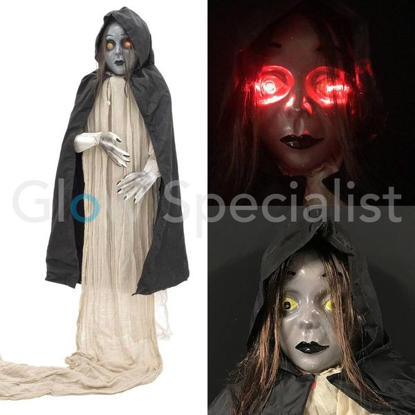 HALLOWEEN GIANT GIRL - WITH LIGHT AND SOUND - 275 CM